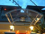 Euro-Design Outdoor DIY PC Alumínio Rainbow Canopy para porta ou janela (YY1200-I)