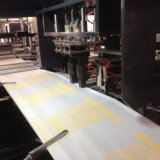 Saco liso não tecido de prevalência que faz a máquina Zxl-D700