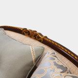Sofa antique américain de tissu de divan classique de salle de séjour avec le jeu de Tableau