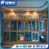 Perfil de aluminio del aislamiento térmico del color verde para la ventana de aluminio