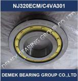 Rolamento de roletes cilíndricos Nj320 Ecmc4/VA301 com compartimento de Latão