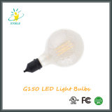 Форма глобуса электрических лампочек крома СИД Stoele G150 4W E40