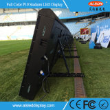 P10 el perímetro del estadio de fútbol LED Display Banner