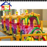 Luxuoso pouco passeio do Kiddie do parque temático do divertimento do trem de carro da competência