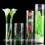 Commerce de gros de l'acrylique Vase de fleurs, LED de l'acrylique Vase, Vase décoratif de marchandises d'accueil