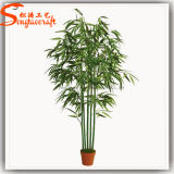 Décoration intérieure Arbre artificiel en bambou en pot en vente