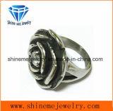 La moda de joyería de acero inoxidable fundición SCR2883 Anillo Flor