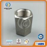 Heiße Verkaufs-HochdruckEdelstahl-Kontaktbuchse-Schweißung verlegte Hex Kupplung (KT0580)
