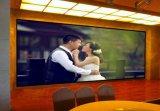 Mur polychrome d'intérieur de vidéo de la qualité P7.62 SMD DEL