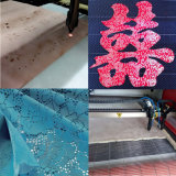 Máquina de corte láser consumen muchos recursos para el lote de bordados (JM-1825T-A)
