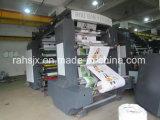 Высокая точность 6 цветов завертывает печатную машину в бумагу Flexography