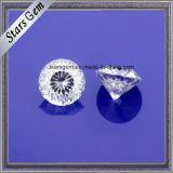 공장은 3개의 캐럿 약혼 반지를 위한 느슨한 Moissanite 싼 가격을 주문을 받아서 만든다