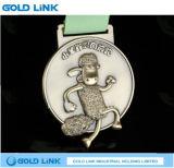カスタムメダルマラソンの連続したフィニッシャーメダル金属は記念品を制作する