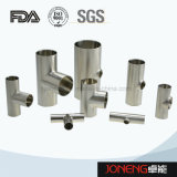 Acero inoxidable de grado sanitario Joneng sujetadas Cruz accesorios de tubería (JN-FT3003)