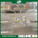 Halbautomatische Schrumpfhülsen-Etikettiermaschine für quadratische Flaschen