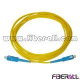 Haute qualité SC simplex cordon de raccordement à fibre optique
