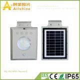 5W 1개의 태양 가로등 통합 LED 태양 가로등에서 에너지 절약 옥외 정원 램프 전부