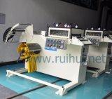 직선기 기계를 가진 Uncoiler는 추가한다 기어 윤활 시스템 (RUS-400F)를