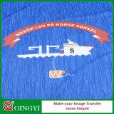 Etiqueta da película da transferência térmica de preço de fábrica de Qingyi para a roupa