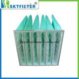 Filtro de aire Filtro de Mangas de bolsillo para aire acondicionado