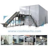 La Soja/Green Bean Túnel de congelación IQF/ráfaga de aire congelador