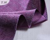 Серии благородных пурпуровых материалов драпирования Linen Stock в Haining