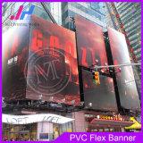 440GSM 300 * 18 * 12 500d material de PVC Banderas brillantes