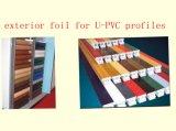 Folha/película ao ar livre de estratificação decorativas do uso do PVC para perfis da porta de Window&