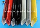 10.0kv Manga de fibra de vidro revestida de borracha de silicone