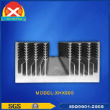 Китай Производство алюминиевых держателей лопастей радиатора с настраиваемыми Design