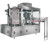 Máquina líquida automática con la máquina que capsula de etiquetado del embotellado para empaquetar