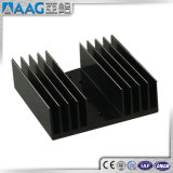 Dissipatore di calore di alluminio dell'alluminio dell'OEM/si è sporto profilo con RoHS/Ce/ISO/As2047/Aama