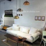 La lámpara pendiente de la dimensión de una variable moderna de la seta adorna la iluminación de cristal de la suspensión de la sala de estar LED