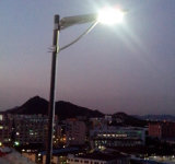 High Efficiency All in One Solar Street Outdoor LED 60W avec LiFePO4 Batterie IP65 approuvé