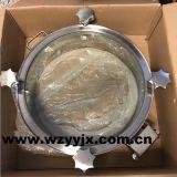 Manway en acier inoxydable avec couvercle en verre