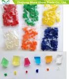 Fábrica de Fornecedores de Soalho de Cristal Quadrado Flores de Vaso de Água Geléia de Lama Beads