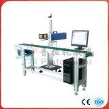 Machine de marquage laser à fibre volante pour ponceaux de tuyaux / tubes en PVC / acier inoxydable