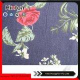 9oz Flower Impresso Denim para senhora Garment Hotsale