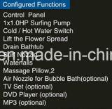 Luxe Eersteklas Massage Bathtub SPA voor Club (bij-9048)