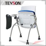 タブレット(DHS-P113-1)が付いているFoldable教室学生の学校のトレーニングの椅子