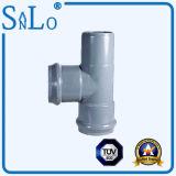 Drei Kontaktbuchse und ein Rohr des Durchlauf-zwei UPVC/PVC/Ppv von Sanlo