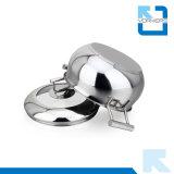 POT alla moda delle azione dell'acciaio inossidabile di 20cm & POT di cottura