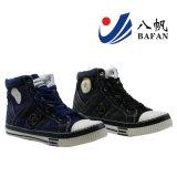 Chaussures de toile occasionnelles de coupure de mode d'injection supérieure élevée de denim - Bf169069