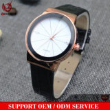 Montre dernier cri d'hommes de femmes de Dw de la mode Yxl-302 de couples de montres-bracelet de quartz d'acier inoxydable d'amoureux neufs de montre