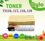Tn116 / 117/118/119 Cartucho de tóner para uso en Konica Minolta Bizhub 164/184/215