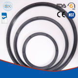 Guarnizioni di gomma dell'asta cilindrica rotativa per i movimenti giranti