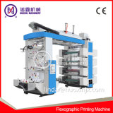 4/6/8 Couleur film plastique Machine d'impression flexo