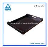 Em plástico preto ESD Antisatic PCB condutiva Bandeja (3W-9805315)
