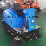 床広範な機械道掃除人の電池式の乗車