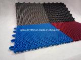 Plancher en plastique antidérapant écologique de 27 cm
